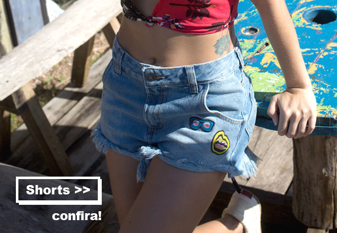 Shorts Femininos da Coleção