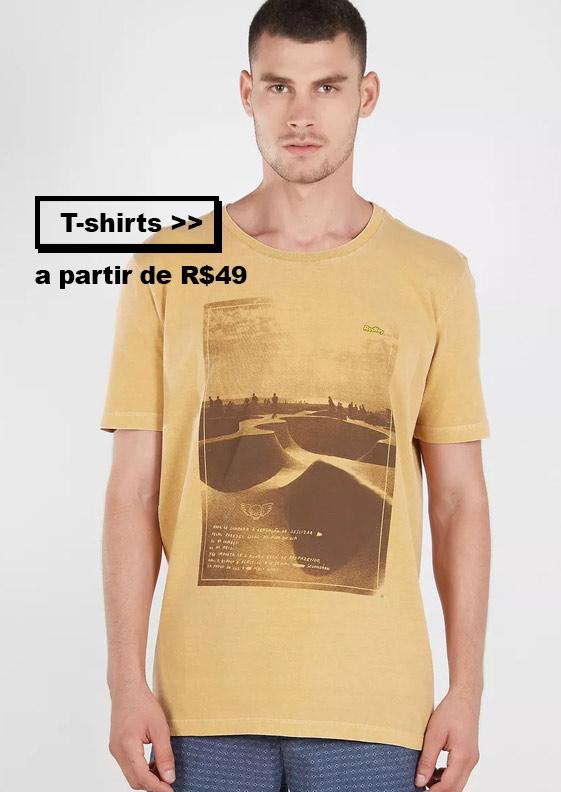 T-shirts e Camisetas em Promoção no Bazar da Redley