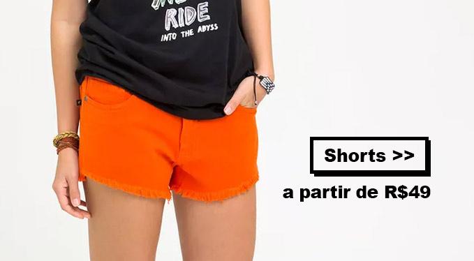 Shorts Bazar Redley Femininos