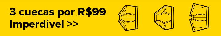 Promoção Underwear - 3 cuecas por R$99