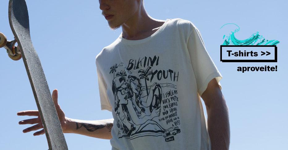 Camisetas e T-Shirts na Black Friday da Redley