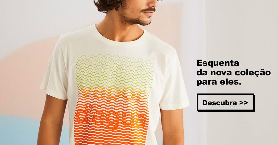 T-Shirt liquidação, promoção redley