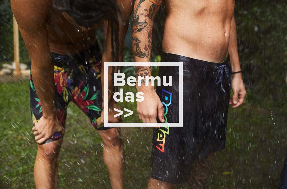 Bermudas e Shorts -  Coleção Trovão Tropical