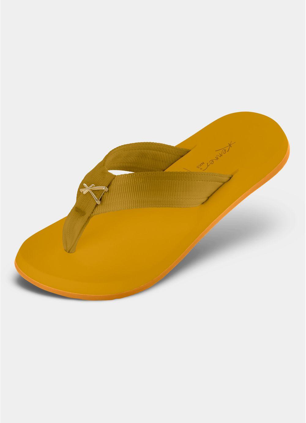 1246882389 SANDALIA KENNER CLASSIC NK5 GOLD AMARELO - Compre Online na Redley!