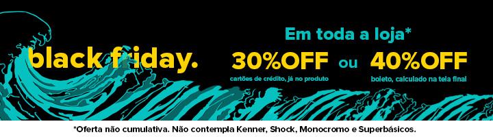 Black Friday da Redley. Todos os produtos com 30% de desconto. 40% off se o pagamento for em boleto. - Mobile