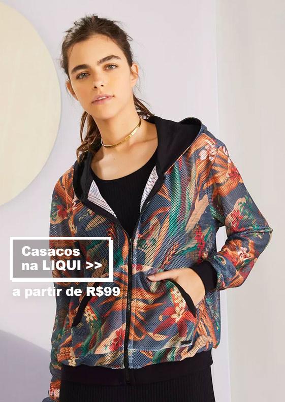 casacos na Liqui - Feminino Redley