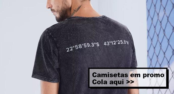 T-shirts Masculinas da Liqui