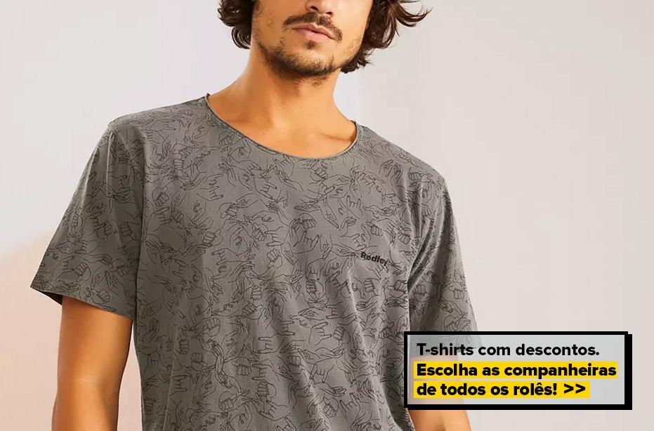 T-shirts saideira