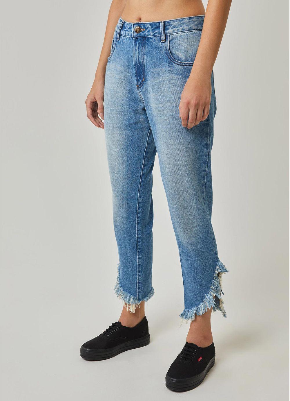 63c0039e5 Calça jeans barra assimétrica JEANS - Compre Online na Redley!