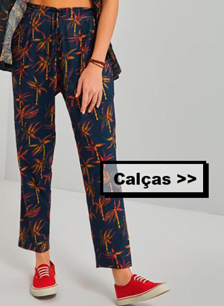 Calças Femininas Trovão Tropical