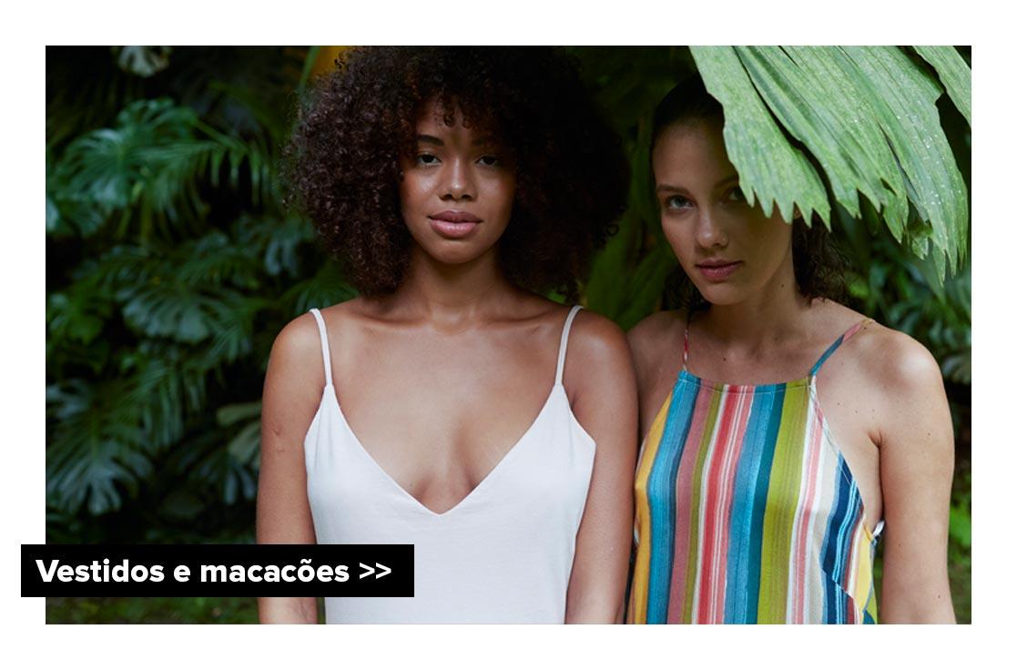 Vestidos e Macacões -  Coleção Trovão Tropical