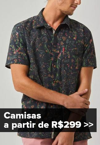 Camisas de Botão - Coleção Trovão Tropical
