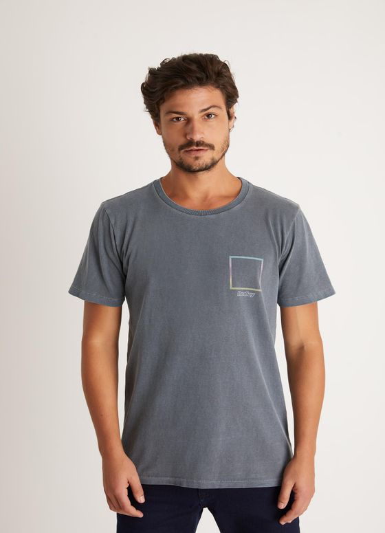 T-SHIRT TINTURADA SILK NATURE CHUMBO