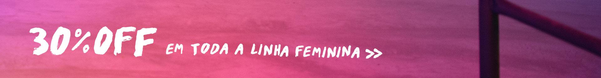 30% Feminino