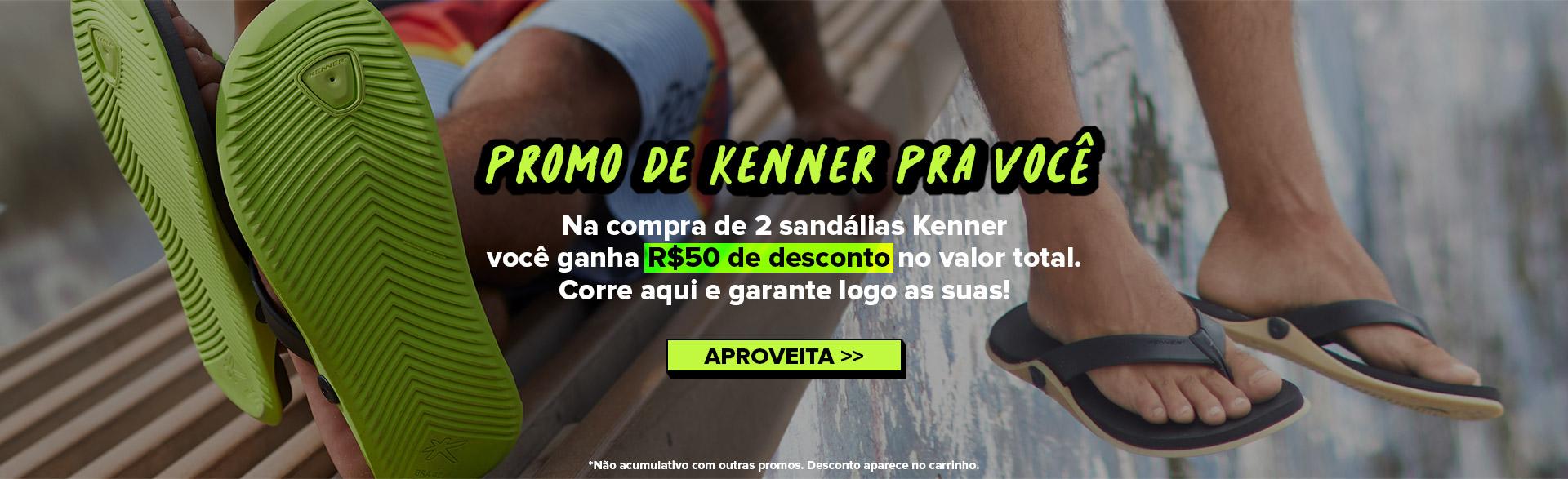 Promo de Kenner Pra Você